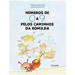 Livro - Números de 0 a 9 Nos Caminhos de Romilda