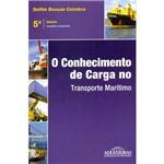 Livro - o Conhecimento de Carga no Transporte Marítimo