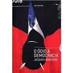 Livro - o Ódio à Democracia