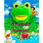 Livro - o Sapinho Indeciso: Livro Fantoche