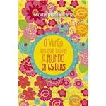Livro - o Verão em que Salvei o Mundo em 65 Dias