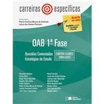 Livro - OAB 1ª Fase: Questões Comentadas - Estratégia de Estudo - Coleção Carreiras Específicas