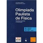 Livro - Olimpíada Paulista de Física - Questões Resolvidas e Comentadas