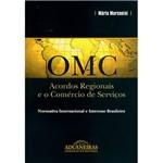 Livro - Omc - Acordos Regionais e o Comercio de Serviços