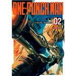 Livro - Onepunch Man Volume 2