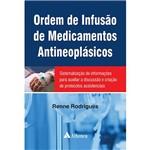 Livro - Ordem de Infusão de Medicamentos Antineoplásicos