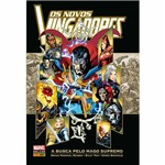 Livro - os Novos Vingadores a Busca Pelo Mago Supremo