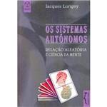 Livro - os Sistemas Autônomos: Relação Aleatória e Ciência da Mente