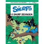 Livro - os Smurfs: o Smurf Selvagem
