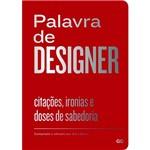Livro - Palavra de Designer