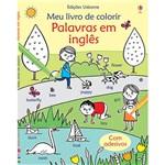 Livro - Palavras em Inglês: Meu Livro de Colorir