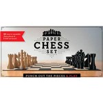 Livro - Paper Chess Set: Punch Out The Pieces And Play