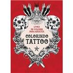 Livro para Colorir - Colorindo Tattoo
