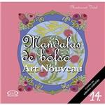 Livro para Colorir - Mandalas de Bolso: Art Nouveau Vol. 14 - 1ª Edição