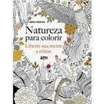 Livro para Colorir - Natureza: Liberte Sua Mente e Relaxe