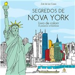 Livro para Colorir - Segredos de Nova York: Livro de Colorir & Passeios Antiestresse
