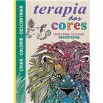 Livro para Colorir - Terapia das Cores - Antiestresse