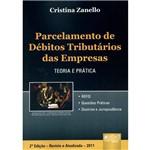 Livro - Parcelamento de Débitos Tributários das Empresas