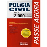 Livro - Passe Agora: Polícia Civil - 2.000 Questões Comentadas