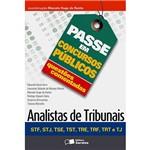 Livro - Passe em Concursos Públicos: Questões Comentadas - Analistas de Tribunais