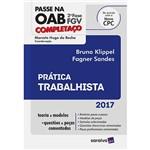 Livro - Passe na OAB Completaço 2ª Fase: Prática Trabalhista
