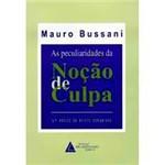 Livro - Peculiaridades da Noçao de Culpa, as