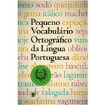 Livro - Pequeno Vocabulário Ortográfico da Língua Portuguesa