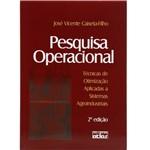 Livro - Pesquisa Operacional - Tecnicas de Otimizaçao