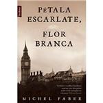 Livro - Pétala Escarlate, Flor Branca