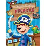 Livro - Piratas: Livro de Adesivos