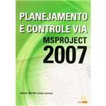 Livro - Planejamento e Controle Via MSProject 2007