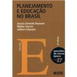 Livro - Planejamento e Educação no Brasil