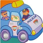 Livro - Polícia - Coleção Minicarros Brilhantes