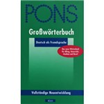 Livro - Pons - Großwörterbuch - Deutsch Als Fremdsprache
