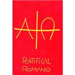Livro - Pontifical Romano