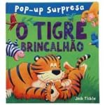 Livro Pop-up Surpresa o Tigre Brincalhão Multicor