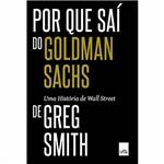 Livro - por que Saí do Goldman Sachs
