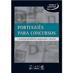 Livro - Português para Concursos: Acentuação Gráfica, Morfologia, Sintaxe - Série Teorias e Questões