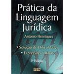Livro - Prática da Linguagem Jurídica: Solução de Dificuldades, Expressões Latinas