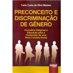 Livro - Preconceito e Discriminação de Gênero