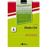Livro - Preparatória para Concursos Jurídicos: Questões Comentadas - Vol.4
