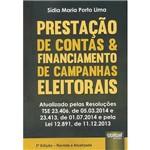 Livro - Prestação de Contas e Financiamento de Campanhas Eleitorais