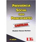Livro - Previdência Social para Principiantes: Cartilha