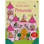 Livro - Princesas: Primeiros Adesivos