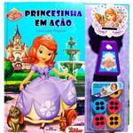 Livro - Princesinha Sofia - Princesinha em Ação [Livro com Projetor]