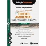 Livro - Principais Tópicos de Direito Ambiental para Concursos Públicos - Coleção Concursos Estude Ouvindo - Audiolivro - Vol. 1