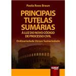 Livro - Principais Tutelas Sumárias à Luz do Novo Código de Processo Civil