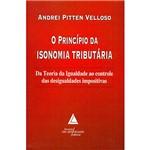 Livro - Princípio da Isonomia Tributária, o