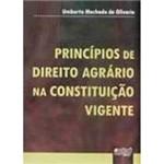 Livro - Princípios de Direito Agrário na Constituição Vigente