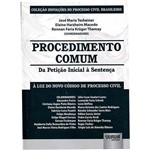 Livro - Procedimento Comum : da Petição Inicial à Sentença